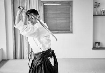 Vu Ha doing iaido